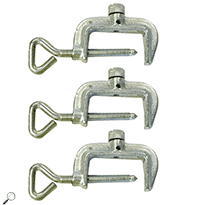 AEMC 2135.80 Set of 3 Replacement C-Clamps for the Model 6472/6474 Kit