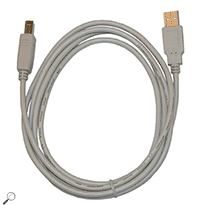 AEMC 2150.54 Replacement 5.6 ft A/B USB Cable for MTX PC Oscilloscopes