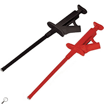 AEMC 2152.18 Probe Set of 2, Color-coded screw-on Grip Probes
