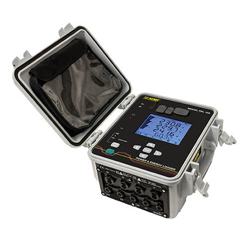 AEMC PEL 105 Power and Energy Logger with 196A-24-BK (4x) AmpFlex Probes (#2137.59)