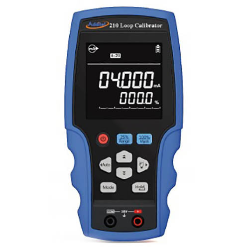 Click for larger image of the Additel ADT210 Current Loop Calibrator, DC Volts, HART Communication, 0.01% Accuracy