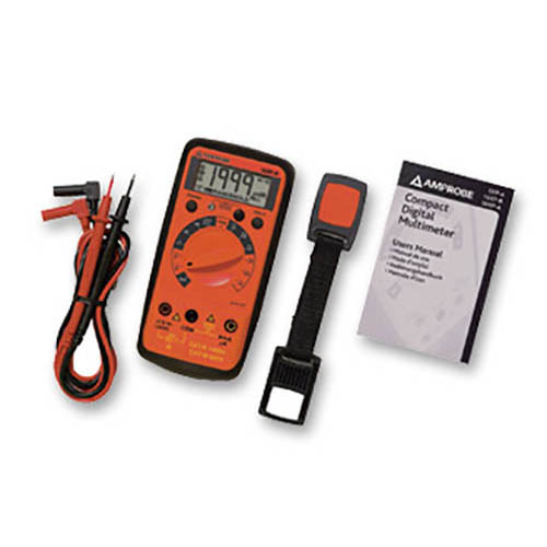 Amprobe 15XP-B Compact Digital Multimeter with Non-Contact Voltage Detector and Logic Test (With Accessories)