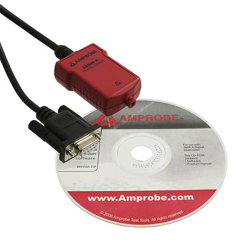Amprobe 38SW-A Accessory Kit, Software and RS-232 Cable