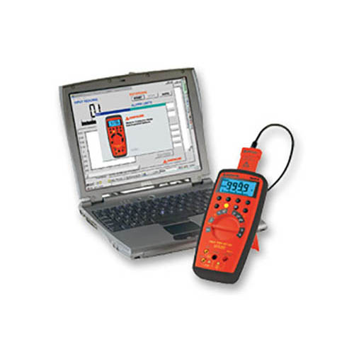 Amprobe 38XR-A True-RMS Autoranging Digital Multimeter with Optical PC Interface and Backlit Display (With PC Interface)