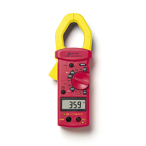 Amprobe AC68C 600V/600A True-RMS Autoranging AC/DC Clamp Meter with 8 Functions/11 Ranges