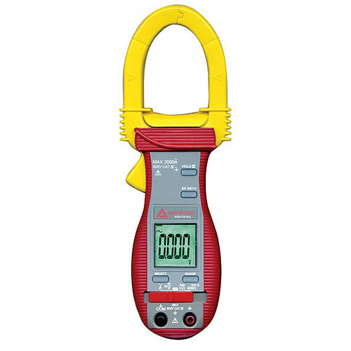 Amprobe ACD-15 TRMS-PRO 600V/2000A TRMS AC Digital Clamp Meter with NCV Detector and Auto Check
