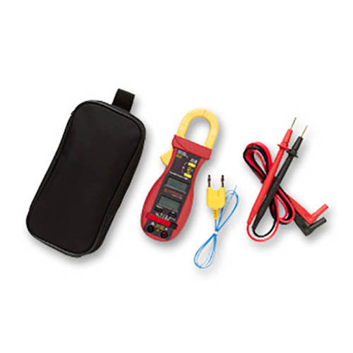 Amprobe ACD-14 PLUS 600V/600A AC Autoranging HVAC/Electrical Clamp-On Multimeter w/ Dual Display (With Accessories)