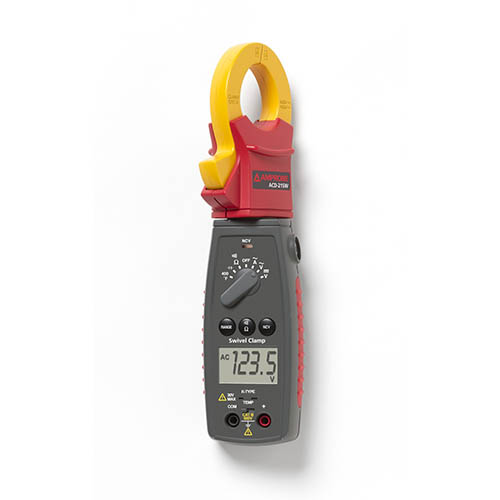 Amprobe ACD-21SW 600V/400A AC Auto/Manual Swivel Clamp Meter with Temperature and Voltect