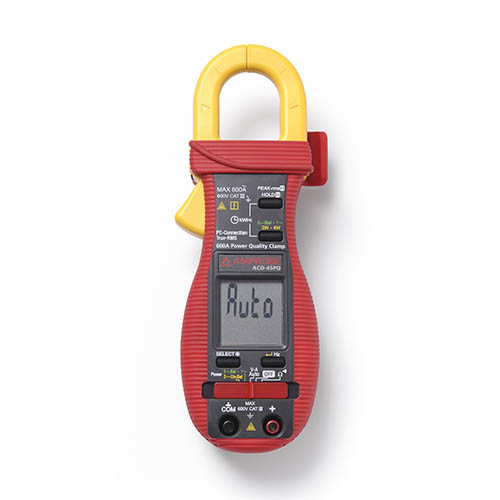 Amprobe ACD-45PQ 600V/600A TRMS AC Power Quality Clamp with 3 Phase Unbalanced Load Measurement