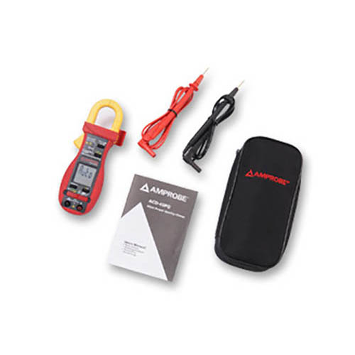 Amprobe ACD-45PQ 600V/600A TRMS AC Power Quality Clamp with 3 Phase Unbalanced Load Measurement  (With Accessories)