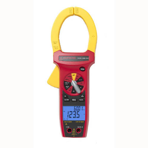 Amprobe ACDC-3400 750VAC/1000VDC/1000A TRMS Industrial AC/DC Clamp Meter, CAT IV, CAT III Rated