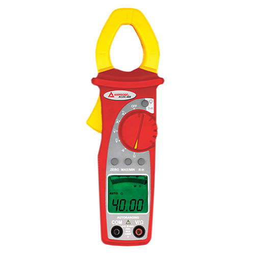 Amprobe ACDC-400 600V/400A AC/DC Digital Clamp Multimeter with Continuity Beeper and Accessories