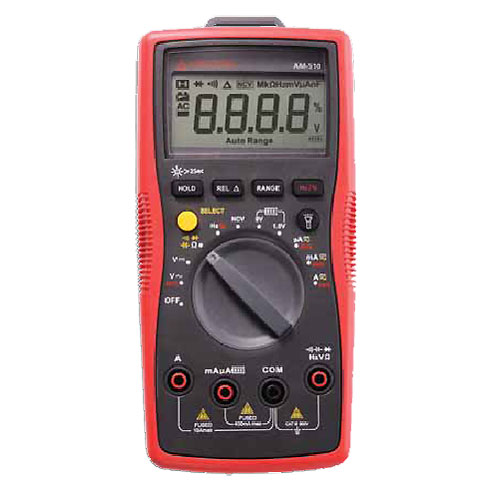 Amprobe AM-510 Auto/Manual Ranging Commercial/Residential Digital Multimeter w/ Voltect NCV Detector