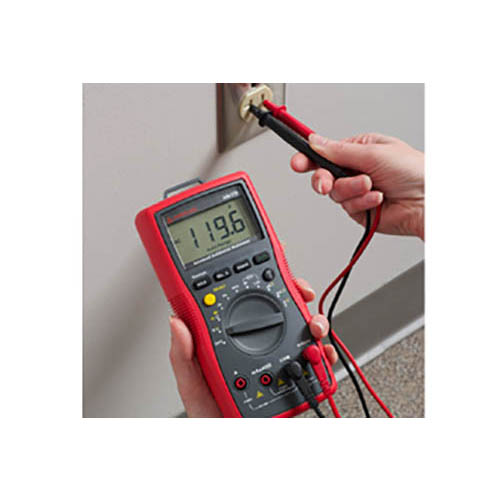 Amprobe AM-510 Auto/Manual Ranging Commercial/Residential Digital Multimeter w/ Voltect NCV Detector (In Action)