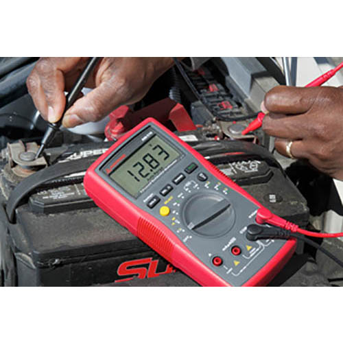 Amprobe AM-510 Auto/Manual Ranging Commercial/Residential Digital Multimeter w/ Voltect NCV Detector (In Action 3)