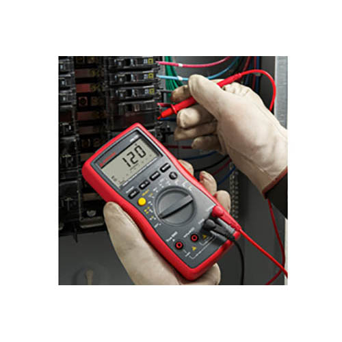 Amprobe AM-530 TRMS Auto/Manual Ranging Electrical Contractor Multimeter with Voltect NCV Detector (In Action)