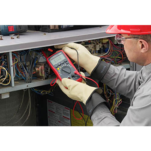 Amprobe AM-560 Advanced HVAC Multimeter, 1000V AC/DC with Voltect Non-Contact Voltage Detector (In Action)