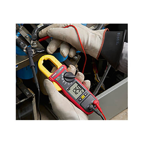 Amprobe AMP-210 600V/600A True-RMS AC Clamp Multimeter with Amp-Tip, CAT III Rated (In Action 2)