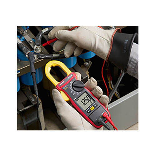Amprobe AMP-220 600V/600A True-RMS AC/DC Clamp Multimeter with Amp-Tip, CAT II Rated (In Action 2)