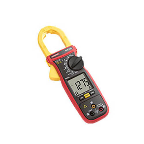 Amprobe AMP-320 600V/600A TRMS AC/DC Clamp Multimeter with 3-Phase Sequence and Motor Testing (Front)