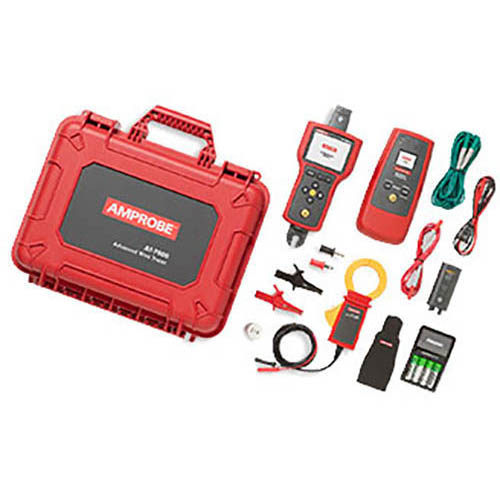 Amprobe AT-7030 0-600 V Advanced Wire Tracer Kit with Smart Sensor, Display and Battery Pack (With Accessories)