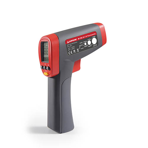 Amprobe IR-730 Infrared Thermometer w/ 30:1 Distance to Spot Ratio, Temperature Range -26 to 2282°F
