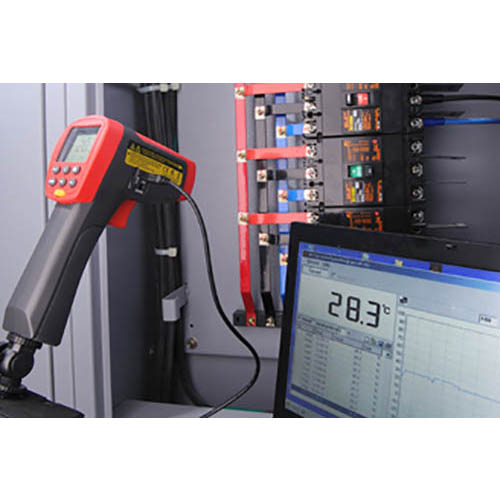 Amprobe IR-750 Infrared Thermometer w/ 50:1 Distance to Spot Ratio, Temperature Range -58 to 2822�F (In Action)