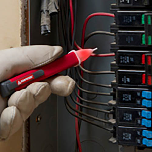 Amprobe PK-110 Electrical Test Kit w/ AM-420 DMM, ST-102B Socket Tester and VP-1000 NCV Detector (In Action 5)