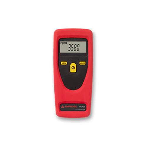 Amprobe TACH20 Contact / Non-Contact Tachometer, Rotational and Surface Speed with Digital Display (Front)