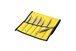 Aven Tools 18475USA Technik 6-Piece Precision Tweezer Set with Soft Carrying Case