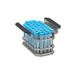 Click for larger image of the Benchmark Scientific B2000-4-T150 Test Tube Rack for 41 x 15 ml Tubes