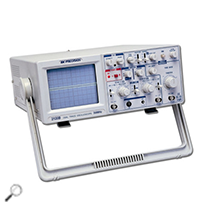 BK Precision 2120B Oscilloscope 30 MHz 2 Channel Analog Oscilloscope with Probes