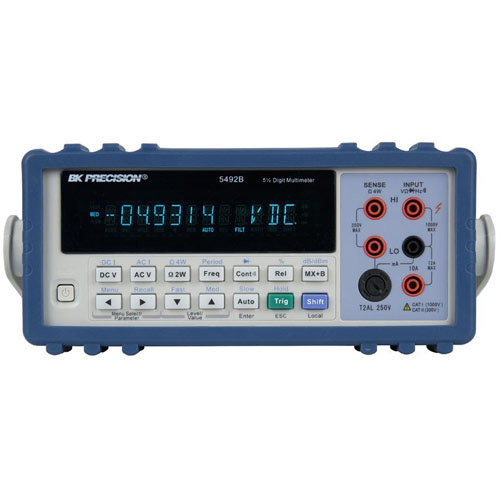 Bk Precision 5492b 120 000 Count 5 1 2 True Rms Bench Multimeter At The Test Equipment Depot