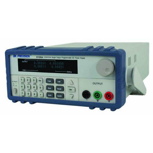BK Precision 9120A Programmable Single-Output DC Power Supply with RS232, 32V/3A, 120VAC Line Input