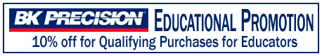 BK Precision Education Promotion