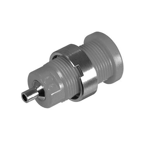 "Cal Test CT2240-9 4mm Safety Banana Jack (socket), .080"" solder hole termination, White, Qty 50"