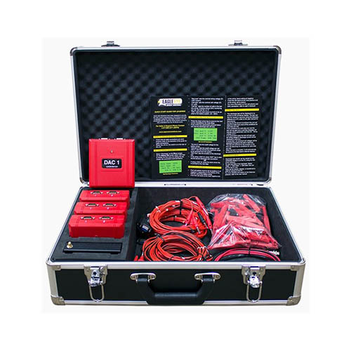 Eagle Eye BDL-10C-10S DAC Battery Data Logging Kit, for up to (10) 12Vx4=48Vdc Systems