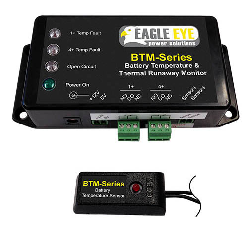 Eagle Eye BTM-20C Battery Temperature/Thermal Runaway Monitor w/20 Sensors