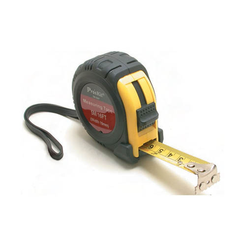 Eclipse 900-151 (DK-2042) Tape Measure, 25', Anti-Slip Shockproof Rubber Case, Blade with Nylon Coating, & Magentic End-Hook for Convenient Measuring