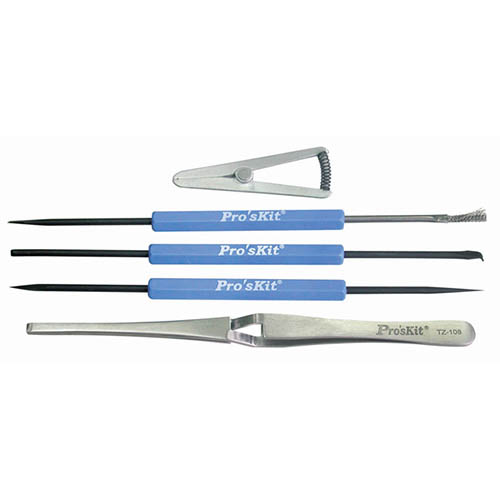 Eclipse 900-250 (108-361) Solder Aid Tool Set with Reverse Tweezers and Heat Sink