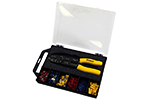 Eclipse 902-498 Terminal Crimp Kit with 100-002 Crimper/Stripper Tool