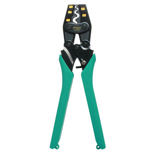 Click for larger image of the Eclipse CP-251B  Ratchet Crimping Tool For Non-Insulated Terminals.