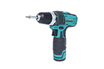 Eclipse PT-1206A 12V Li-Ion Cordless Drill Driver with Drills and Bits, Dual Gear Speed 350 / 1300 RPM, 19 + 1 Torque Settings, 3/8 in Keyless Chuck