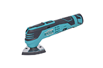 Eclipse PT-1210A 12V Li-Ion Cordless Multi Function Tool for Cutting, Trimming, Sanding, and Scraping, 15000 IPM High Impact Force, 6 Gear Speed