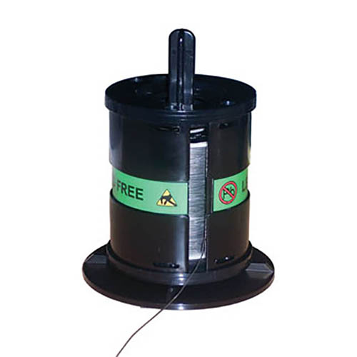 EDSYN SL287LF Static-Safe Empty Solder Spool Holder with Self-Adhesive Bottom for Lead-Free Solder