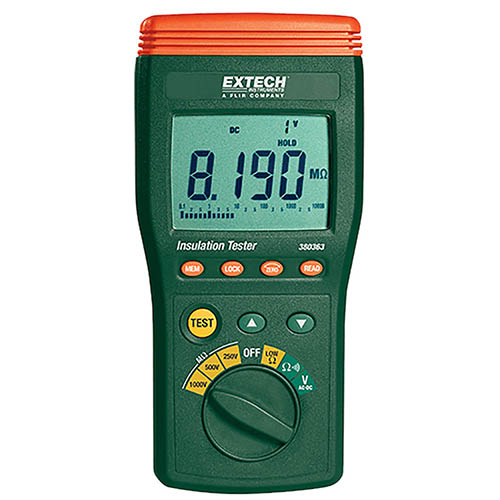 Extech 380363 Digital High Voltage Insulation Tester Datalogger