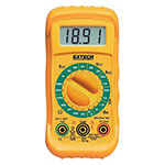 Click here for larger image - Extech MN25 MiniTec™ Manual Ranging Digital MultiMeter