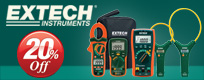 Extech 20% Off Promotion