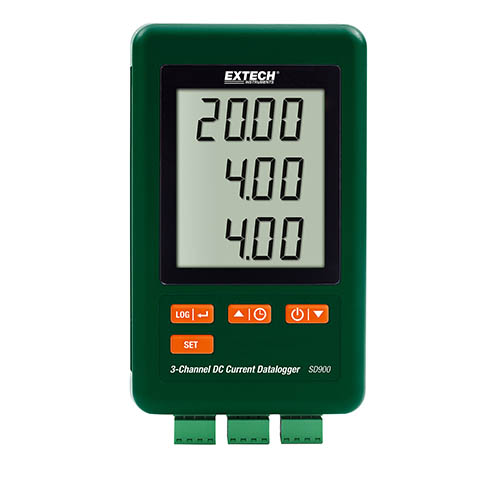 Click for larger image of the Extech SD900 3-Channel DC Current Datalogger