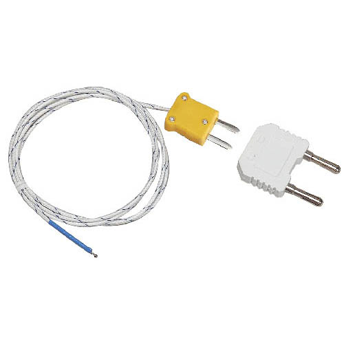 Extech TP873 Bead Wire Type K Temperature Probe Subminiature with Banana Connector